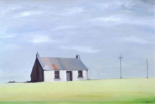 Pylon Painting - This Old House by Ana Bianchi