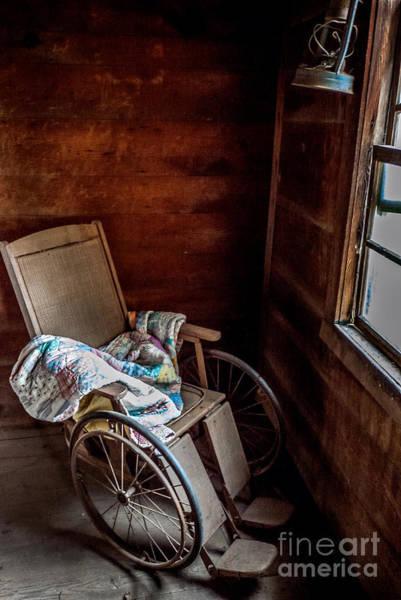 Photograph - Wheelchair With A View by Bernd Laeschke