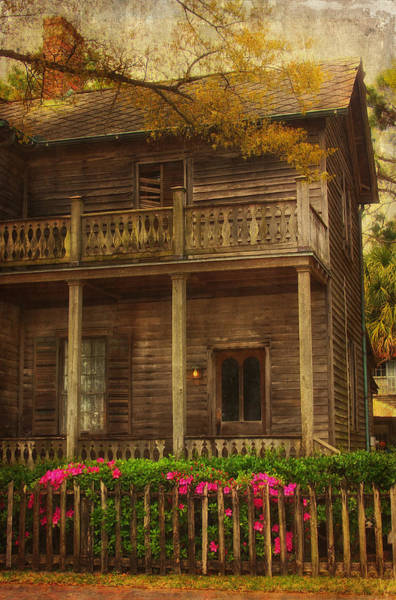 Pensacola Photograph - This Old House by Kim Hojnacki