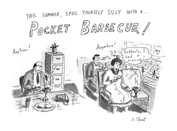 Yourself Drawing - 'this Summer by Roz Chast