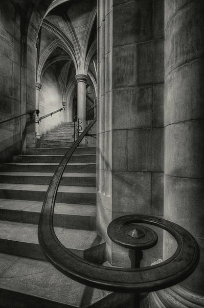 Old Church Photograph - This Way Up by Christopher Budny