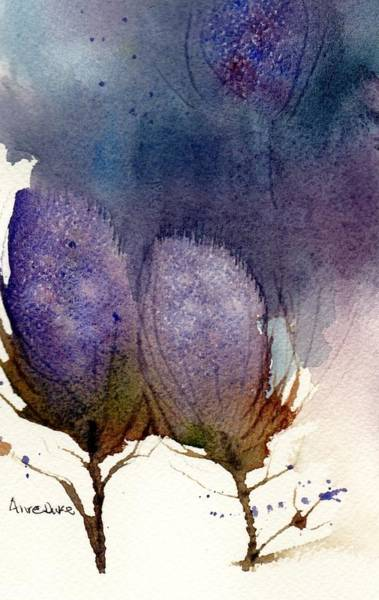 Thistle Weather Art Print
