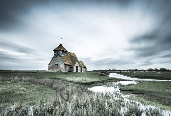 Fairfield Photograph - Thomas A Becket Church - Fairfield by Ian Hufton