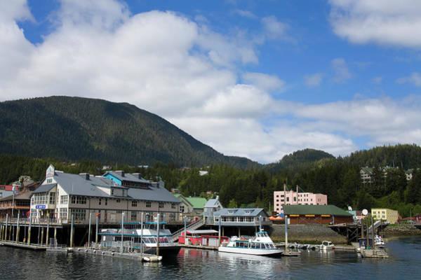 Ketchikan Photograph - Thomas Basin Boat Harbor by Richard Cummins