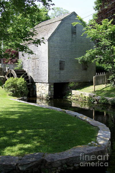 Wall Art - Photograph - Thomas Dexter's Grist Mill by Christiane Schulze Art And Photography
