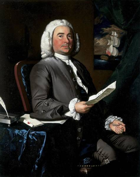 Businessman Photograph - Thomas Greene, 1758 Oil On Canvas by John Singleton Copley