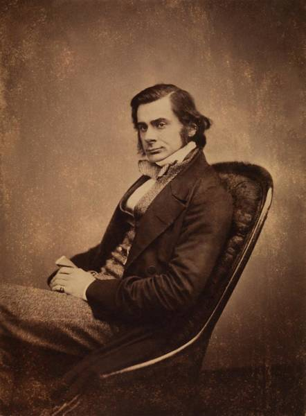 Comparative Wall Art - Photograph - Thomas Henry Huxley by Royal Institution Of Great Britain / Science Photo Library