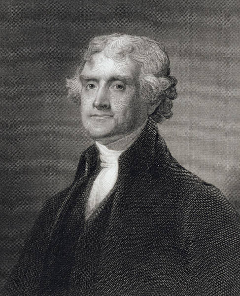 Bryan Painting - Thomas Jefferson by Gilbert Stuart
