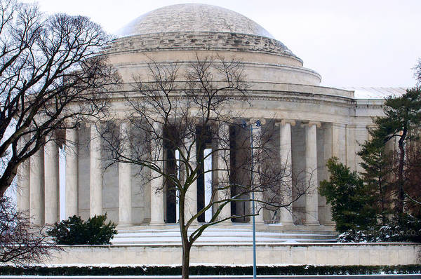 Photograph - Thomas Jefferson Memorial by DLL Production Co
