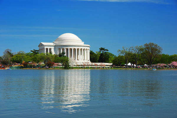 Photograph - Thomas Jefferson National Memorial In Washington Dc by Songquan Deng