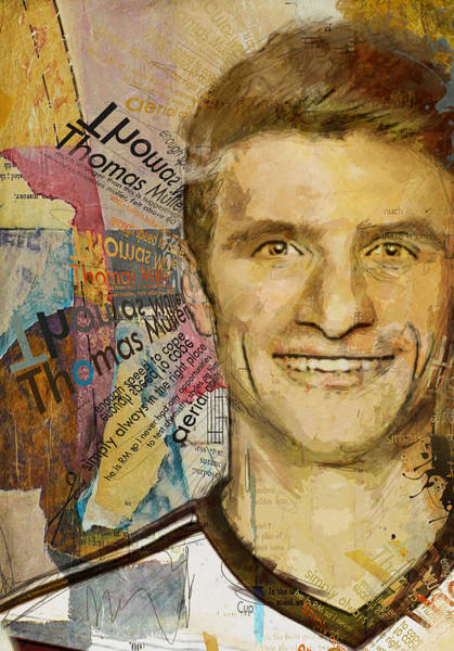 Wall Art - Painting - Thomas Muller by Corporate Art Task Force