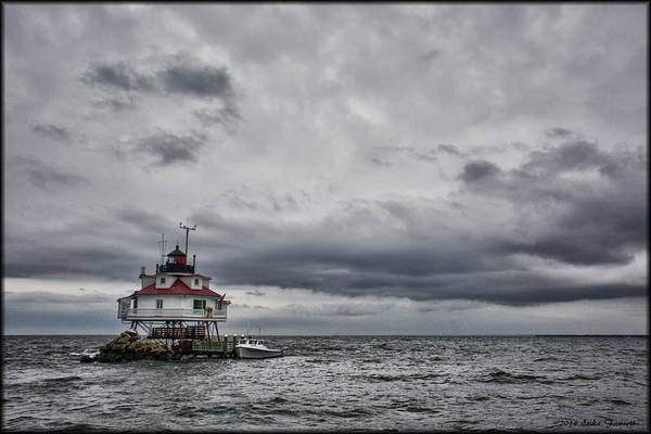 Photograph - Thomas Point Lighthouse by Erika Fawcett