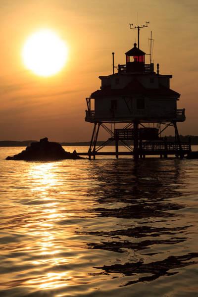 Wall Art - Photograph - Thomas Point Lighthouse by Jennifer Casey