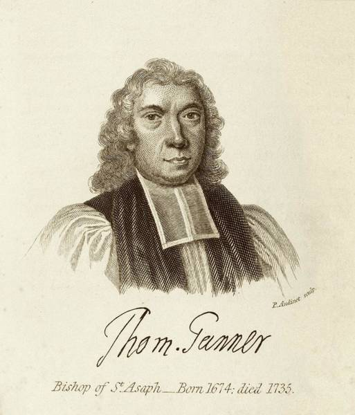 Welsh Church Photograph - Thomas Tanner by Middle Temple Library