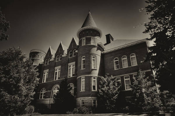 Photograph - Thompson Hall - Washington State University by David Patterson