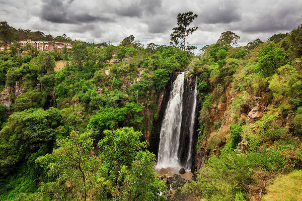 Nature Conservancy Photograph - Thomson Falls, Kenya by Anton Petrus