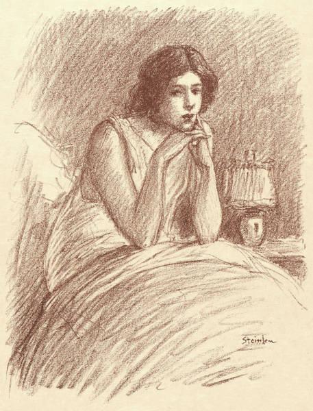 Wall Art - Drawing - Théophile Alexandre Steinlen Swiss, 1859 - 1923. Morning by Litz Collection