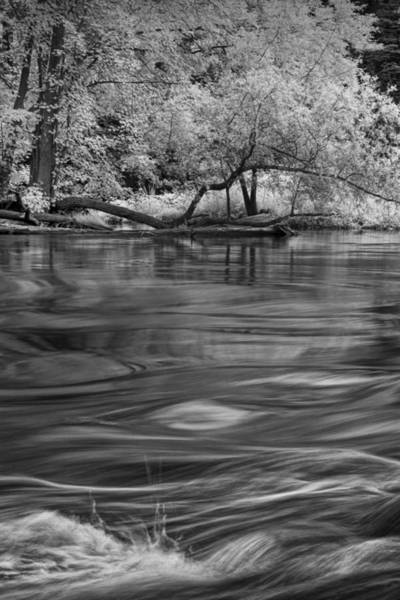 Photograph - Thornapple River Flowing Water By Alaska Michigan by Randall Nyhof