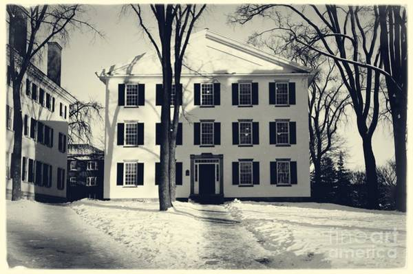 Photograph - Thornton Hall Dartmouth College by Edward Fielding