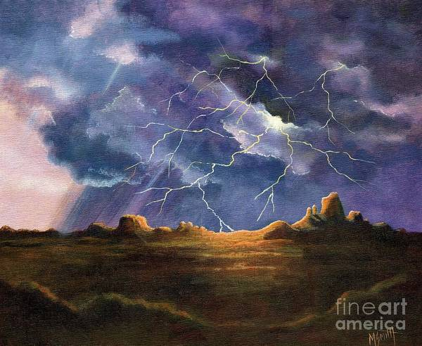 Painting - Thor's Fury by Marilyn Smith