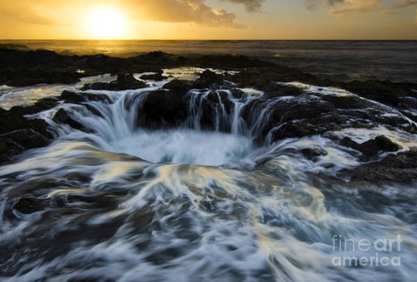 Cape Perpetua Wall Art - Photograph - Thors Well Truly A Place Of Magic 2 by Bob Christopher