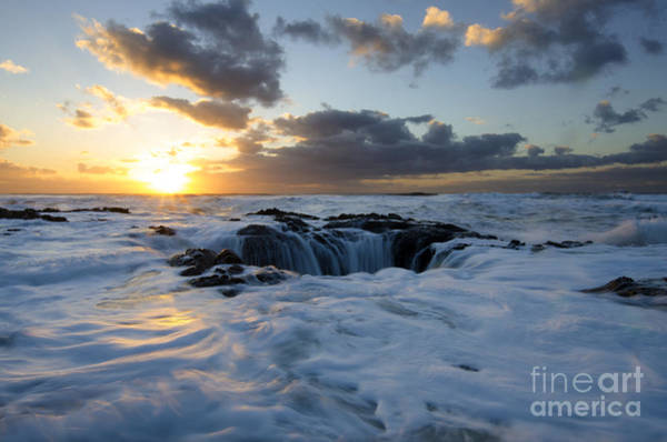 Cape Perpetua Wall Art - Photograph - Thors Well Oregon Truly A Place Of Magic 3 by Bob Christopher