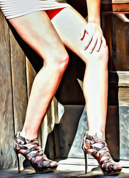 Photograph - Those Legs by Alice Gipson