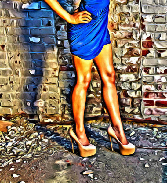 Photograph - Those Legs Eight by Alice Gipson