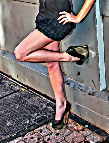 Photograph - Those Legs Five by Alice Gipson