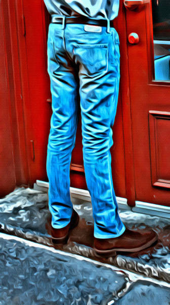 Photograph - Those Manly Legs Five by Alice Gipson
