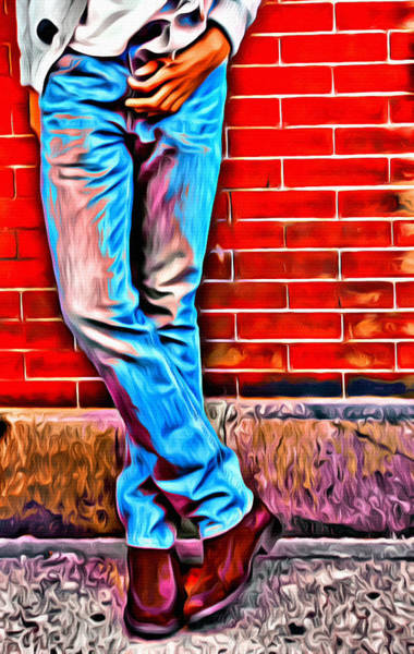 Photograph - Those Manly Legs Two by Alice Gipson