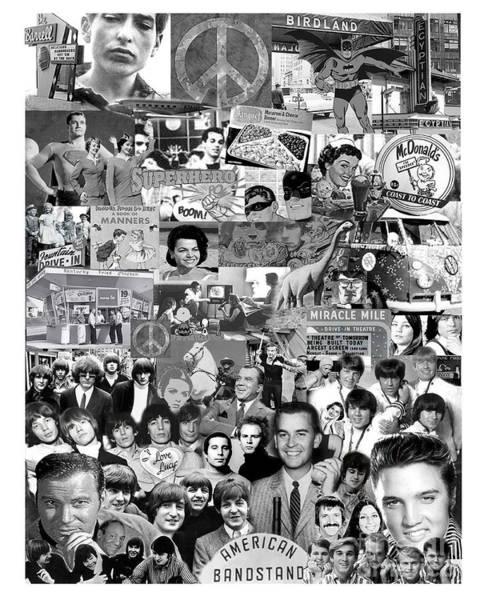 Bob Dylan Digital Art - Those Were The Days My Friend by Mara Lee