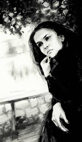 Wall Art - Drawing - Thoughts by Natasha Denger
