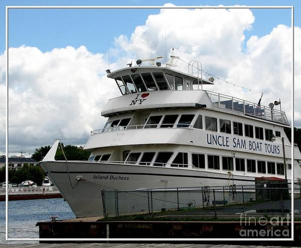 Photograph - Thousand Islands Saint Lawrence Seaway Uncle Sam Boat Tours by Rose Santuci-Sofranko