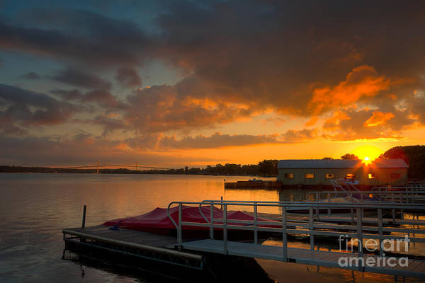 Photograph - Thousand Islands Sunrise I by Clarence Holmes