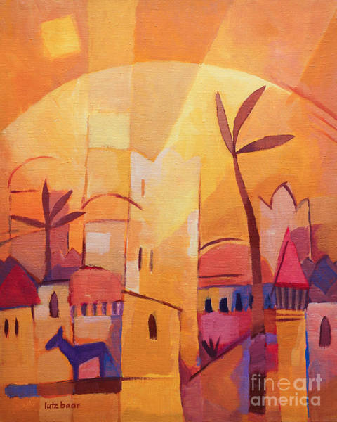 Painting - Thousend An One Nights by Lutz Baar