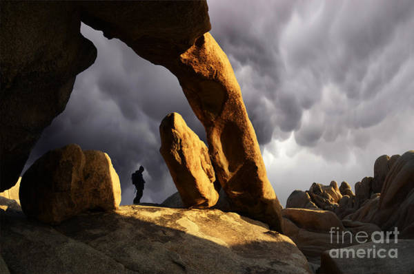 Threatened Photograph - Threatening Skies by Bob Christopher