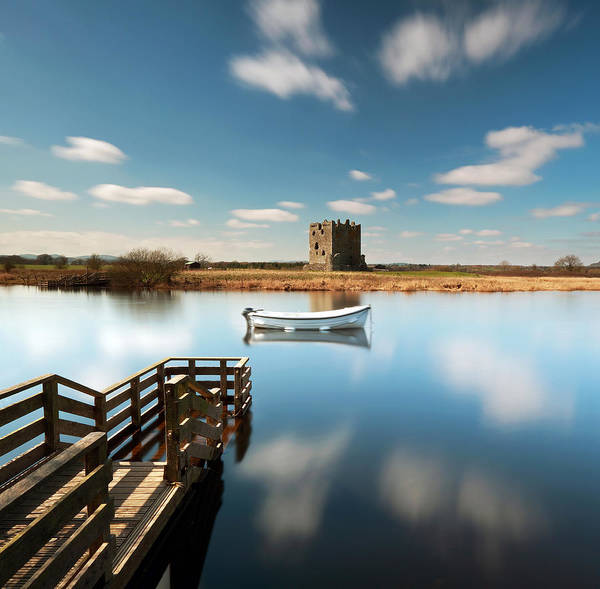 Photograph - Threave  Castle by Grant Glendinning