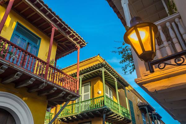 Cartagena Photograph - Three Balconies by Jess Kraft