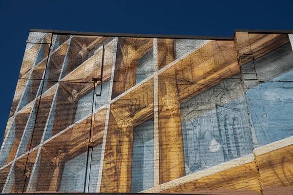 Three Dimensional Optical Illusions - Trompe L'oeil On A Brick Wall Art Print