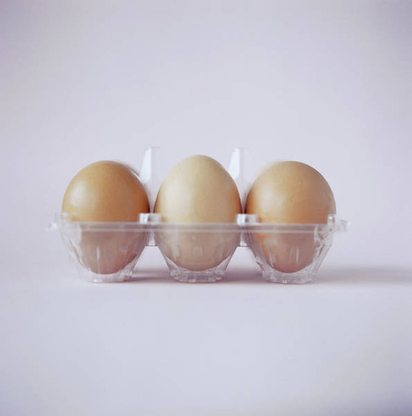 Wall Art - Photograph - Three Eggs by Cristina Pedrazzini/science Photo Library