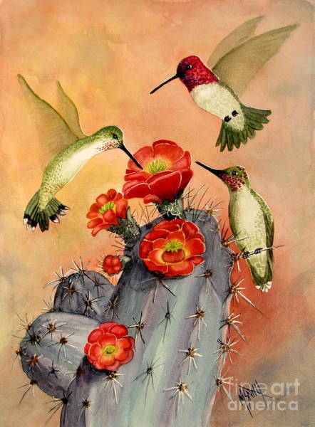 Painting - Three For Breakfast by Marilyn Smith