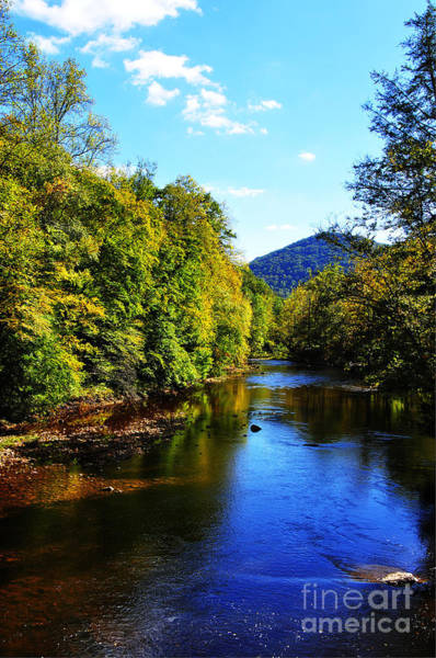 Allegheny Mountains Wall Art - Photograph - Three Forks Williams River Early Fall by Thomas R Fletcher