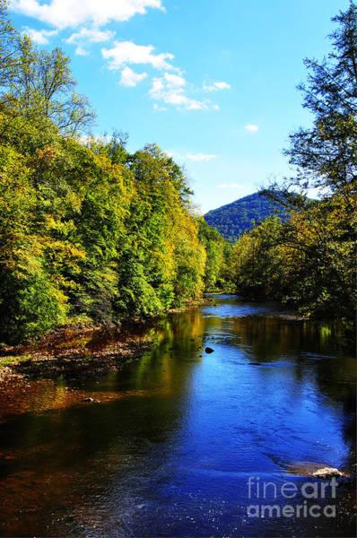 Three Forks Williams River Early Fall Art Print