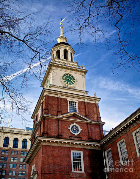 Photograph - Three Forty Five At Independence Hall by Mark Miller