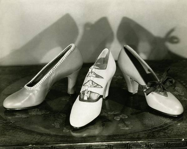 January 1st Photograph - Three High Heeled Shoes by Edward Steichen