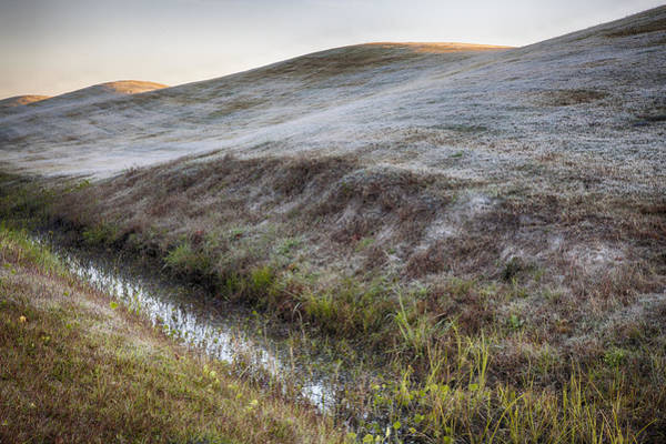 Photograph - Three Hills With Frost  Landscape Photograph By Jo Ann Tomaselli by Jo Ann Tomaselli