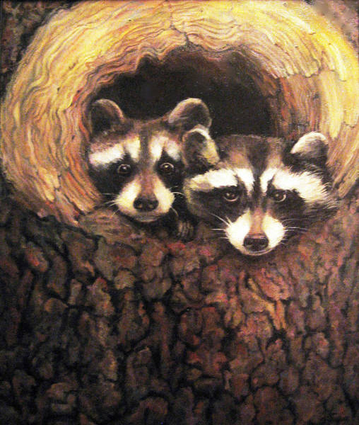 Painting - Three Is A Crowd by Donna Tucker