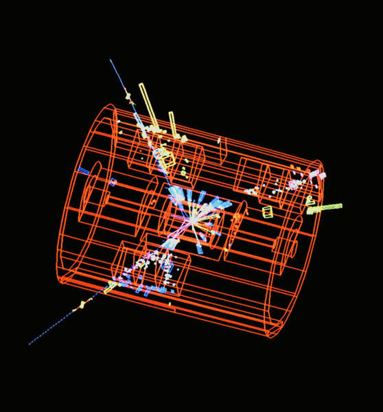 Wall Art - Photograph - Three-jet Event In L3 Detector At Cern by Cern/science Photo Library