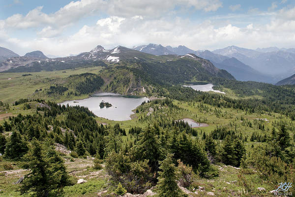 Photograph - Three Lakes by Kenneth Hadlock